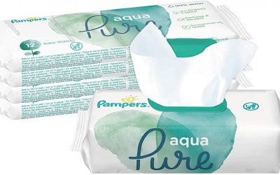 Aqua Pure Wipes By Pampers Review