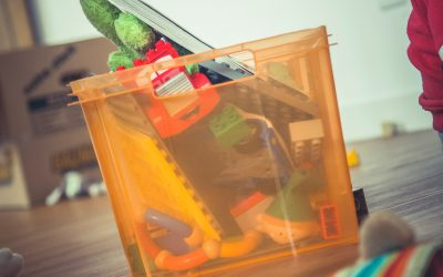 How to Help Organise a Messy Toy Box