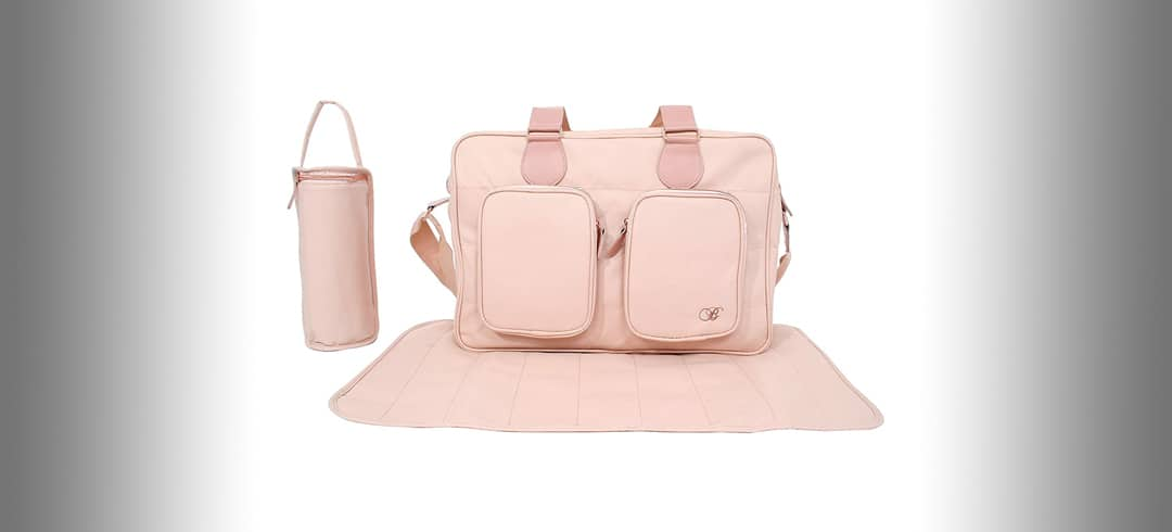 lush pink changing bag