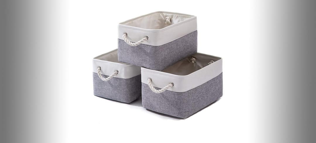 AlphaHome Fabric Storage Boxes